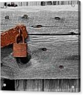 Rusty And Old 2 Acrylic Print