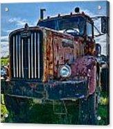 Rusty Autocar Acrylic Print