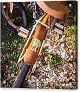 Rusty Bike Bumper Acrylic Print