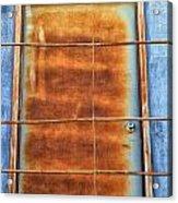 Rusty Blues Acrylic Print