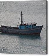 Rusty Boat Acrylic Print