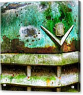 Rusty Caddy Acrylic Print