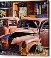 Rusty Cars  Acrylic Print