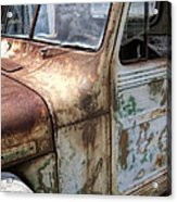 Rusty Classic Willy's Jeep Pickup Acrylic Print