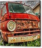 Rusty Dodge Acrylic Print