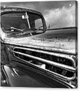 Rusty Ford 1942 Black And White Acrylic Print