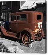 Rusty Ford Acrylic Print