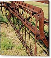 Rusty Hay Rake Acrylic Print