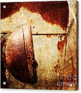 Rusty Headlamp Acrylic Print