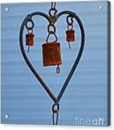 Rusty Heart 1 Acrylic Print