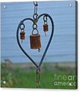 Rusty Heart 2 Acrylic Print