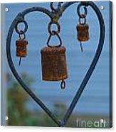 Rusty Heart 3 Acrylic Print