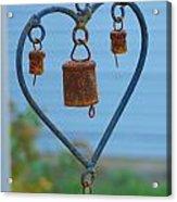 Rusty Heart 4 Acrylic Print