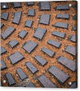 Rusty Iron Hatch Acrylic Print