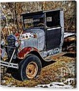 Rusty Model Aa Ford Acrylic Print