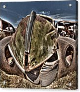 Rusty Old American Dreams - 2 Acrylic Print
