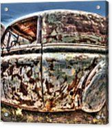 Rusty Old American Dreams - 4 Acrylic Print
