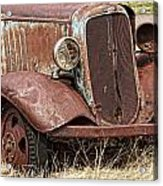 Rusty Old Chevy Acrylic Print