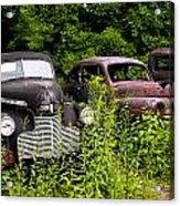 Rusty Old Transportation Acrylic Print