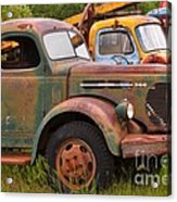 Rusty Old Trucks Acrylic Print