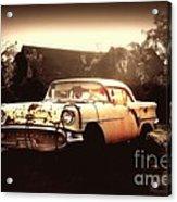 Rusty Oldsmobile Acrylic Print