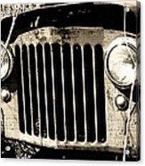 Rusty Relic - The Forgotten 02 Acrylic Print