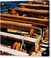 Rusty Remains Acrylic Print