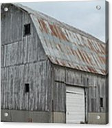 Rusty Roof Barn Acrylic Print