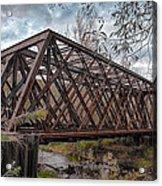 Rusty Sal  7d07856h Acrylic Print