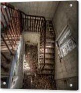 Rusty Stairs Acrylic Print