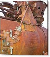 Rusty Steam Tractor Acrylic Print