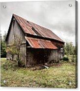 Rusty Tin Roof Barn Acrylic Print