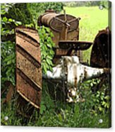 Rusty Tractor 1  Acrylic Print