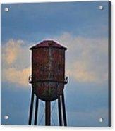Rusty Watertower Acrylic Print
