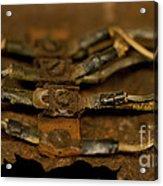 Rusty Wires Acrylic Print