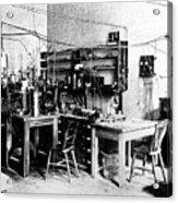 Rutherford's Cavendish Laboratory Acrylic Print