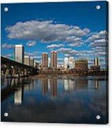 Rva Cityscape Acrylic Print