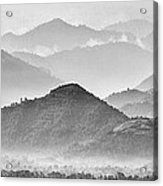 Rwanda Hills Acrylic Print