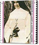 Rwanda Stamp Acrylic Print