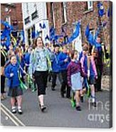 Rye Olympic Torch Parade Acrylic Print