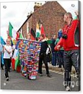 Rye Olympic Torch Relay Parade Acrylic Print