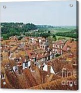 Rye Town Roofs Acrylic Print