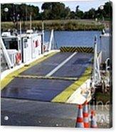 Ryer And Grand Island Ferry Acrylic Print
