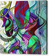 Rythem Of Change Acrylic Print