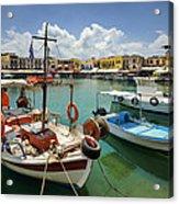 Rythemno Greece Acrylic Print