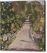 S. Dyer Neck Rd. - Art By Bill Tomsa Acrylic Print