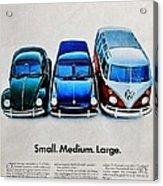 S M L Acrylic Print