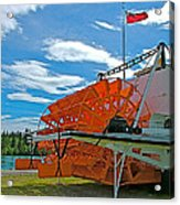S S Klondike On Yukon River In Whitehorse-yt Acrylic Print