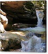 Sabbaday Falls Gorge Acrylic Print