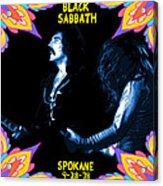 Sabbath In Spokane 1 Acrylic Print
